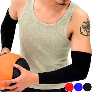 哪裡買⊙全臂式彈性透氣護肘套D017-09護手套護臂套護手臂套.護手肘套袖套護套.肌肉加壓力關節保暖.健身手部運動防護具