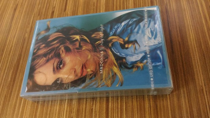 Madonna 1998 Ray Of Light 光芒萬丈 錄音帶 全新未拆 飛碟唱片絲帶