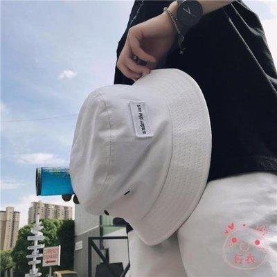 漁夫帽正韓夏季新品男士百搭時尚漁夫盆帽子簡約刺繡貼標遮陽防曬帽海淘吧/海淘吧/最低價DFS0564