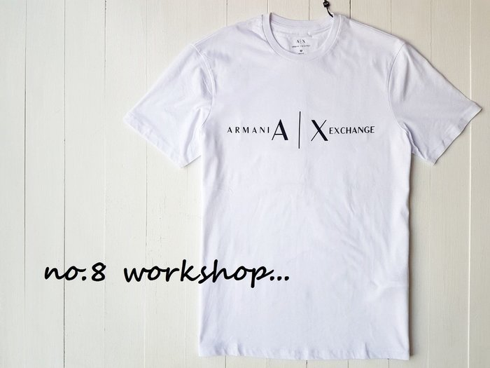 T☆【A/X男生館】☆【ARMANI EXCHANGE LOGO短袖T恤】☆【AX002R8】(S-M-L)原價1699 9/23到貨