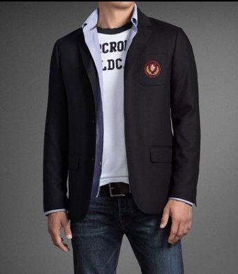 Abercrombie & Fitch men jackets 男西裝超級棒版本 Sx1 全台唯一 super slim