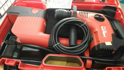 //(來電14385全台最低價) 附發票(東北五金)喜得釘 Hilti免出力電鑽TE-7C+吸塵器大組合
