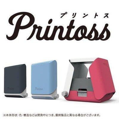 Takara Tomy Printoss 手機相片列印機 + INSTAX MINI 20枚入_目前現貨藍色在台