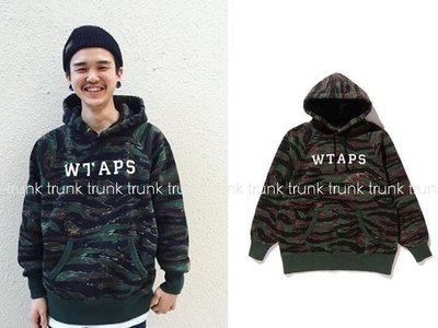 17SS W)TAPS WTAPS DESIGN HOODED 04 虎斑 迷彩 金標連帽衛衣 全新現貨