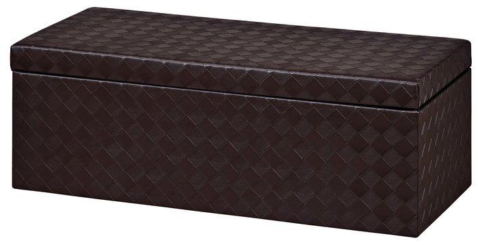 SA362-1*胡桃色菱格大收納椅/大台北地區/系統家具/沙發/床墊/茶几/高低櫃/1元起