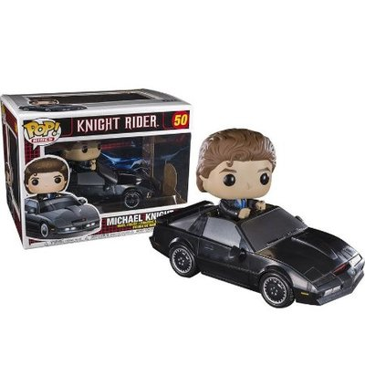 BEETLE FUNKO POP RIDES KNIGHT RIDER 霹靂車 霹靂遊俠 李麥克 #50