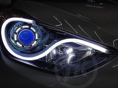 JK極光LED導光條CAMRY淚眼FIT新馬3 ELANTRA大燈Luxgen九代EX新馬5 OUTLANDER WRX