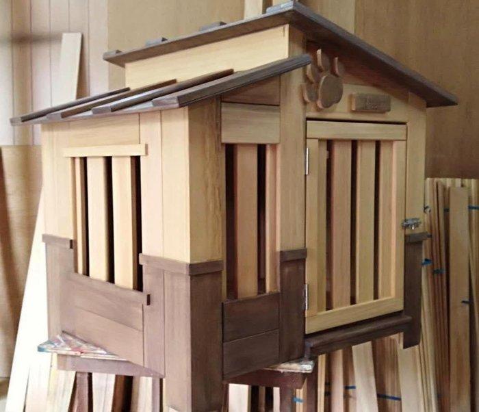 原木狗屋設計製作