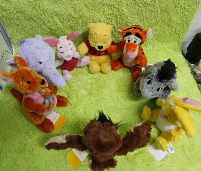 【Dona代購】日本迪士尼樂園限定 小熊維尼 小豬 跳跳虎 屹耳 瑞比 袋鼠媽媽 小象嘟嘟 貓頭鷹 玩偶/娃娃 W03