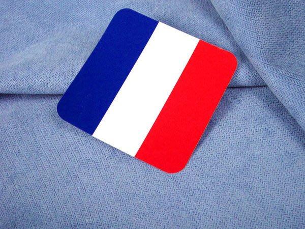 【衝浪小胖】法國方形旅行箱貼紙/抗UV防水/登機行李箱/世界多國可收集訂製