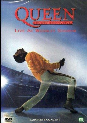 全新未拆DVD~DTS皇后合唱團Queen : Live At Wembley溫柏林演唱會實況~另有1981演唱會