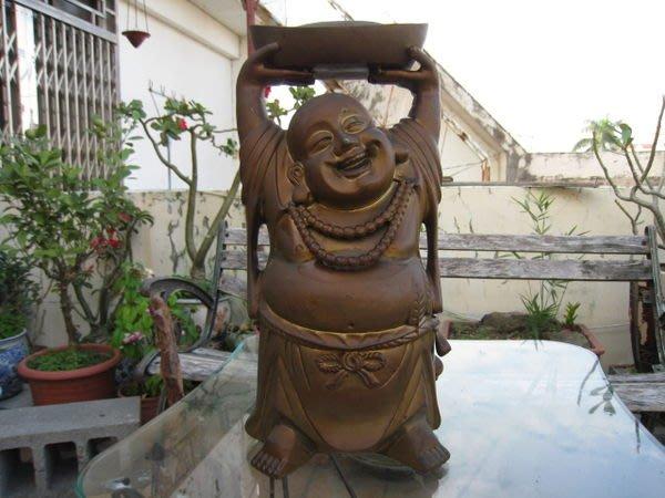 銅雕 ((招財彌勒佛))