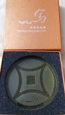 香港賽馬會 玻璃 杯墊