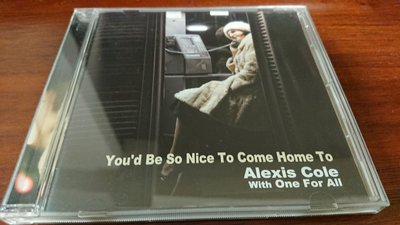 Alexis Cole you'd be so nice to come home to 經典發燒爵士錄音日本盤Venus cd錄音絕對美聲