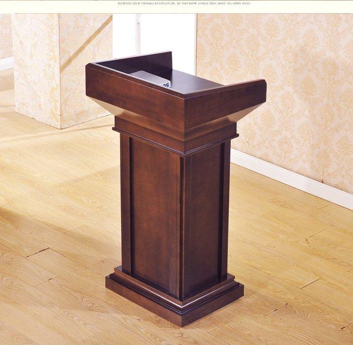 實木演講台發言台迎賓台接待台教師講台婚禮主持台宣誓台