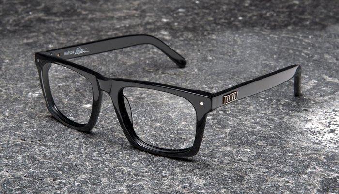 { POISON } 9FIVE WATSON READER 亮黑透明片 美國西岸風格太陽眼鏡品牌