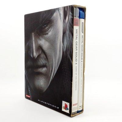 【橙市青蘋果】PS3:潛龍諜影4 愛國者之槍 Metal Gear Solid 4 雙片裝 #01029