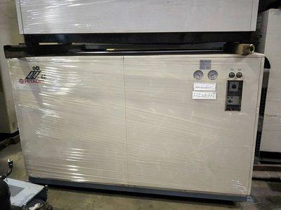 (大台北)中古日立40RT水冷冰水機3φ220V(編號:HI1080802)~適用辦公室廠房製冰冷卻及空調系統~