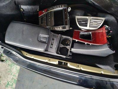 佳泰拆賣ES350內裝lexus中船ES240中央扶手ABS總成音響主機中控螢幕椅子方向盤內飾板排檔座總成尾燈後燈儀表板