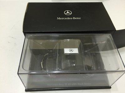 Mercedes Benz SL 65 black series AMG 原廠精品 Minichamps代工
