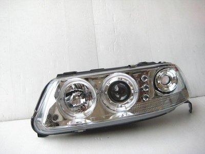 ~~ADT.車燈.車材~~福斯 GOL 3 POINTER 01~04 雙光圈魚眼銀底大燈一組