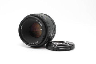 【高雄青蘋果】Nikon AF Nikkor 50mm F1.8 D鏡 二手鏡頭 #60647