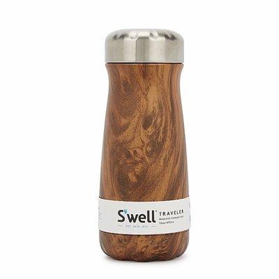 S'well 木紋 不鏽鋼保溫瓶 保溫杯 隨手杯 470ml swell