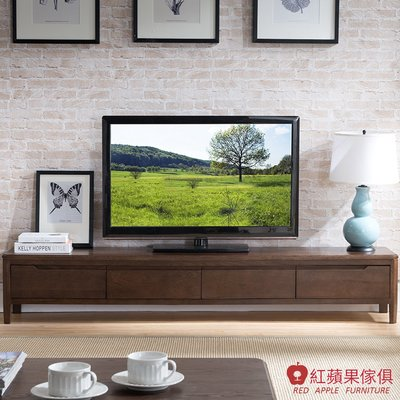 [紅蘋果傢俱]JM003 電視櫃 北歐風電視櫃 日式電視櫃 實木電視櫃 無印風 簡約風