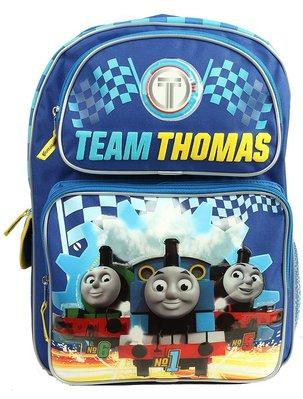 預購 美國帶回 正版 THOMAS 湯瑪士小火車 兒童雙肩後背包 書包 旅行包 16吋 旅行包 生日禮
