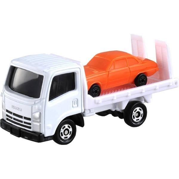 TOMICA 多美小汽車 NO.060 ISUZU車輛搬運車 初回+一般 TM060A4  TM060-C2