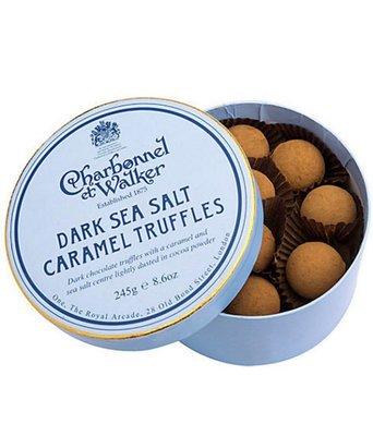 (預購)(下標前請先詢問)英國 CHARBONNEL ET WALKER 海鹽焦糖松露黑巧克力 245g