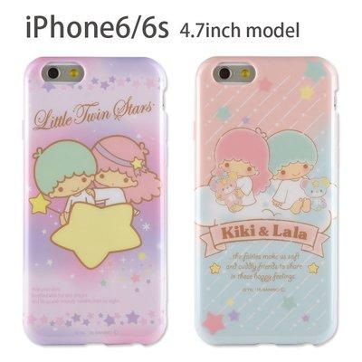 尼德斯Nydus~* 日本正版 三麗鷗 kiki Lala 雙子星 TPU軟殼 手機殼 4.7吋 iPhone 6/6S