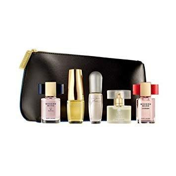 Estee Lauder 雅詩蘭黛 珍藏經典女性小香禮盒(噴式小香5入+化妝包)【小7美妝】