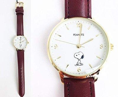 日本正版 Fieldwork PNT003-2 SNOOPY 史努比 腕錶 手錶 皮革錶帶 日本代購