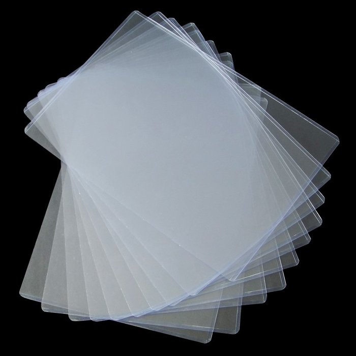 衣萊時尚-10個A4a3a5硬膠套營業執照保護套PVC塑料卡片袋透明文件證件卡套(規格不同價格不同)