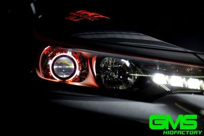 GAMMAS-HID 台中廠 GMS 六代 TOYOTA NEW ALTIS 11.5代   遠近魚眼 LED 飾圈06