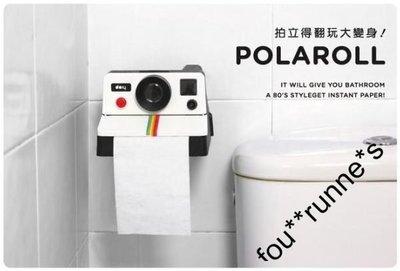HomoHomo【Polaroid 600 寶麗來相機造型廁紙架】厠紙筒 廁所裝飾擺設 Polaroll 安樂蝸 浴室