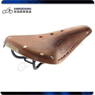 【阿伯的店】BROOKS B17 AGED 男用 鐵弓 座墊 鞣革 (公司貨 盒裝)#SU2443