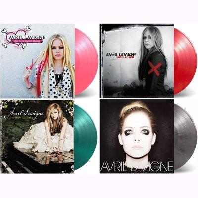 Avril Lavigne艾薇兒限量LP彩膠唱片黑膠唱片(4張不分售)