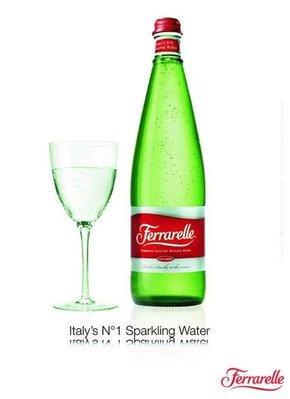 【義大利法拉蕊Ferrarelle】夏日飲水 原生態氣泡礦泉水 750ml(6入)