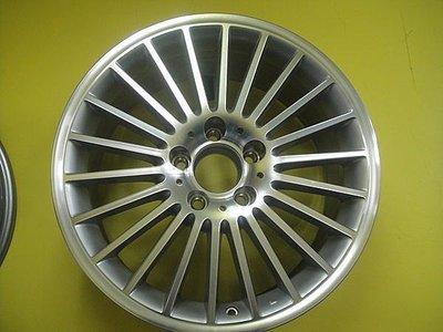 類賓士BENZ 原廠鋁圈17 5H112 8J SLK200.SLK230.C200.C240K.E200.E320.W208.W209.W210.W211適用