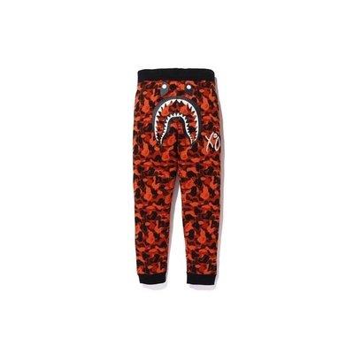 A Bathing Ape Bape x XO 威肯品牌 聯名款 鯊魚迷彩 棉長褲