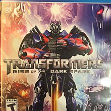 PS4 Transformers: Rise of the Dark Spark 英文版 二手 九成新