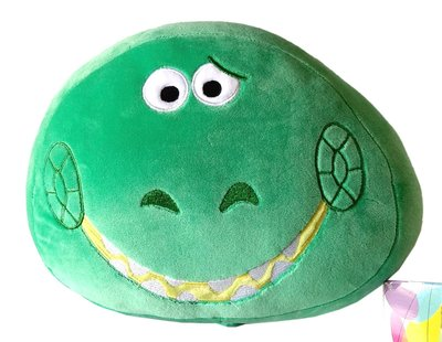 【卡漫迷】 抱抱龍 絨毛 枕頭 庫1  ㊣版 靠墊 靠枕 午安枕 Rex 抱枕 玩具總動員 Toy Story