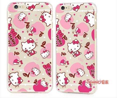 """《東京家族》 """"特價出清""""正版 Hello Kitty iPhone 6 plus 5.5吋 粉色大蘋果 保護殼手機殼"""