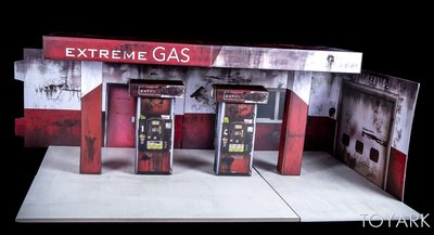 全新正版Extreme Sets 1:12/6吋人偶場景系列 - Gas Station Marvel DC SHF Mezco Mafex