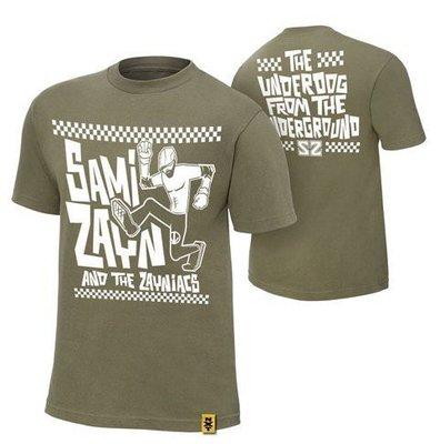 ☆阿Su倉庫☆WWE摔角 Sami Zayn Underdog From The Underground T-Shirt