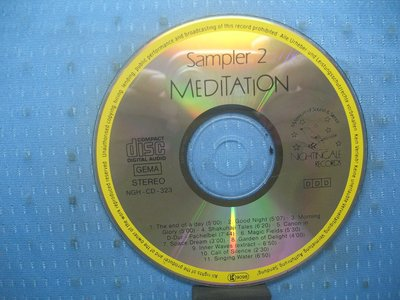 [無殼光碟]AM Meditation Sampler, Vol. 2