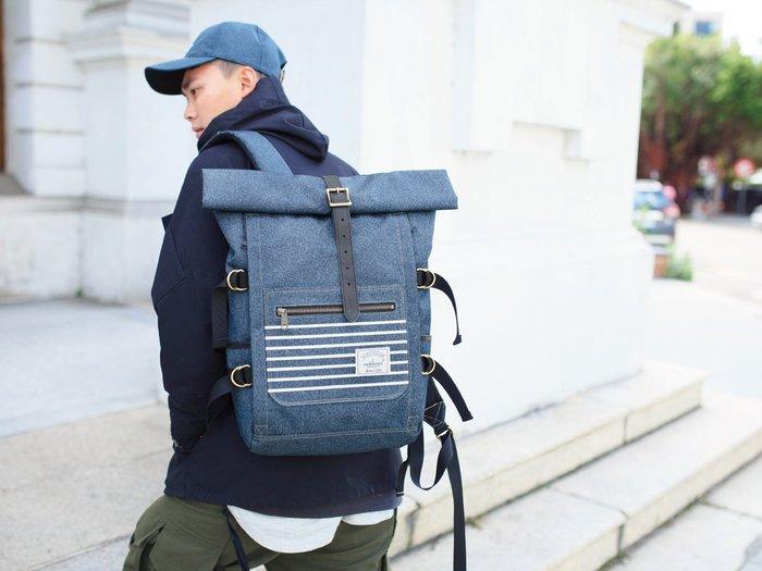 【Matchwood直營】Matchwood Ranger 後背包 丹寧藍款 15吋筆電夾層 可防潑水抗污 開學限時優惠