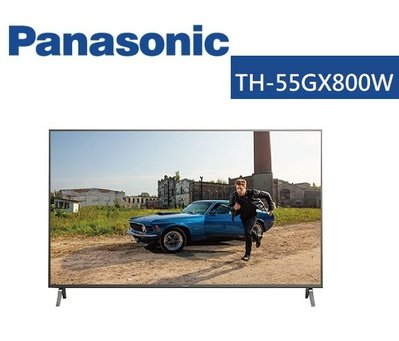 Panasonic 國際牌 TH-55GX800W 55吋 4K LED LCD 液晶電視
